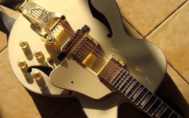 guitars wallpaper. Guitar Wallpaper - Red Shine
