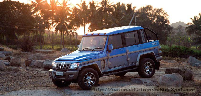Automobile Trendz Modified Mahindra Bolero