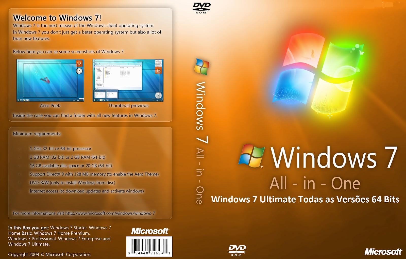 Windows 7 ultimate sp1 all editions 32 64 bit longisland