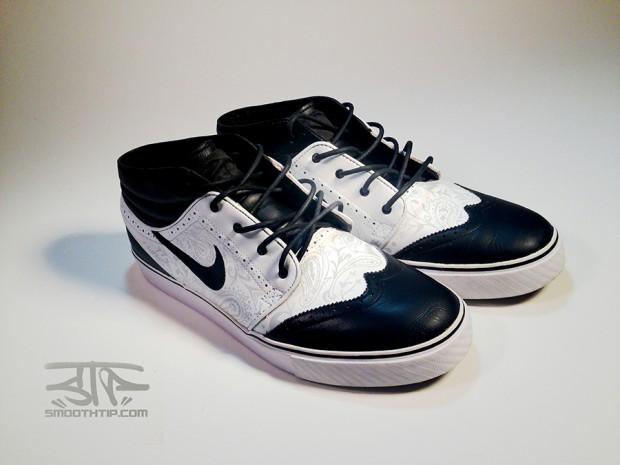 Nike SB Zoom Stefan Janoski Canvas PremiumBaskets Noir