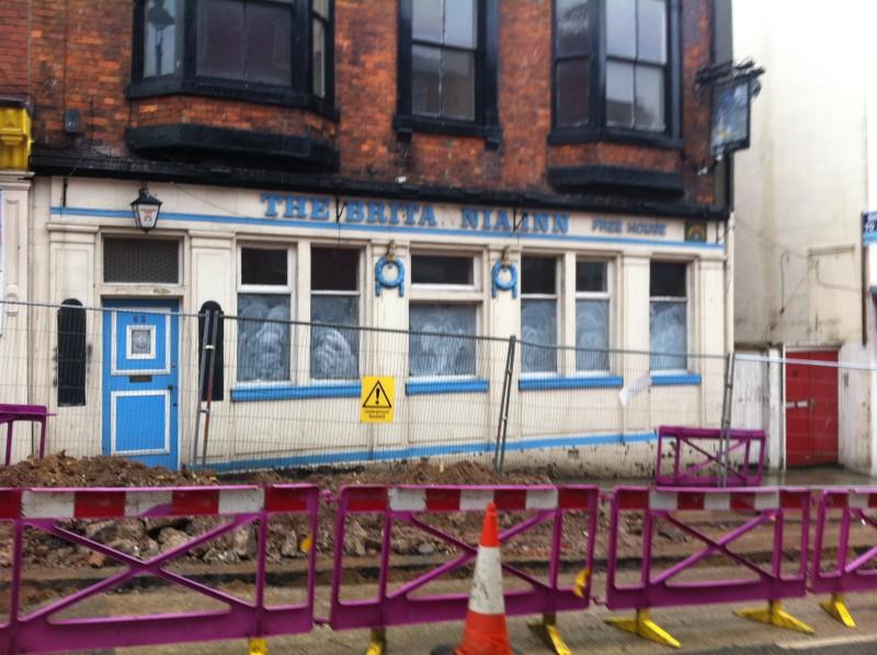 closed pubs  the britannia
