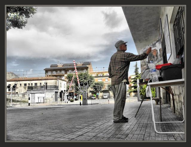 SANT GUIM DE FREIXENET-CATALUNYA-PINTURA-LLEIDA-SEGARRA-FOTOS-PAISATGES-PINTORS-PINTOR-ERNEST DESCALS-