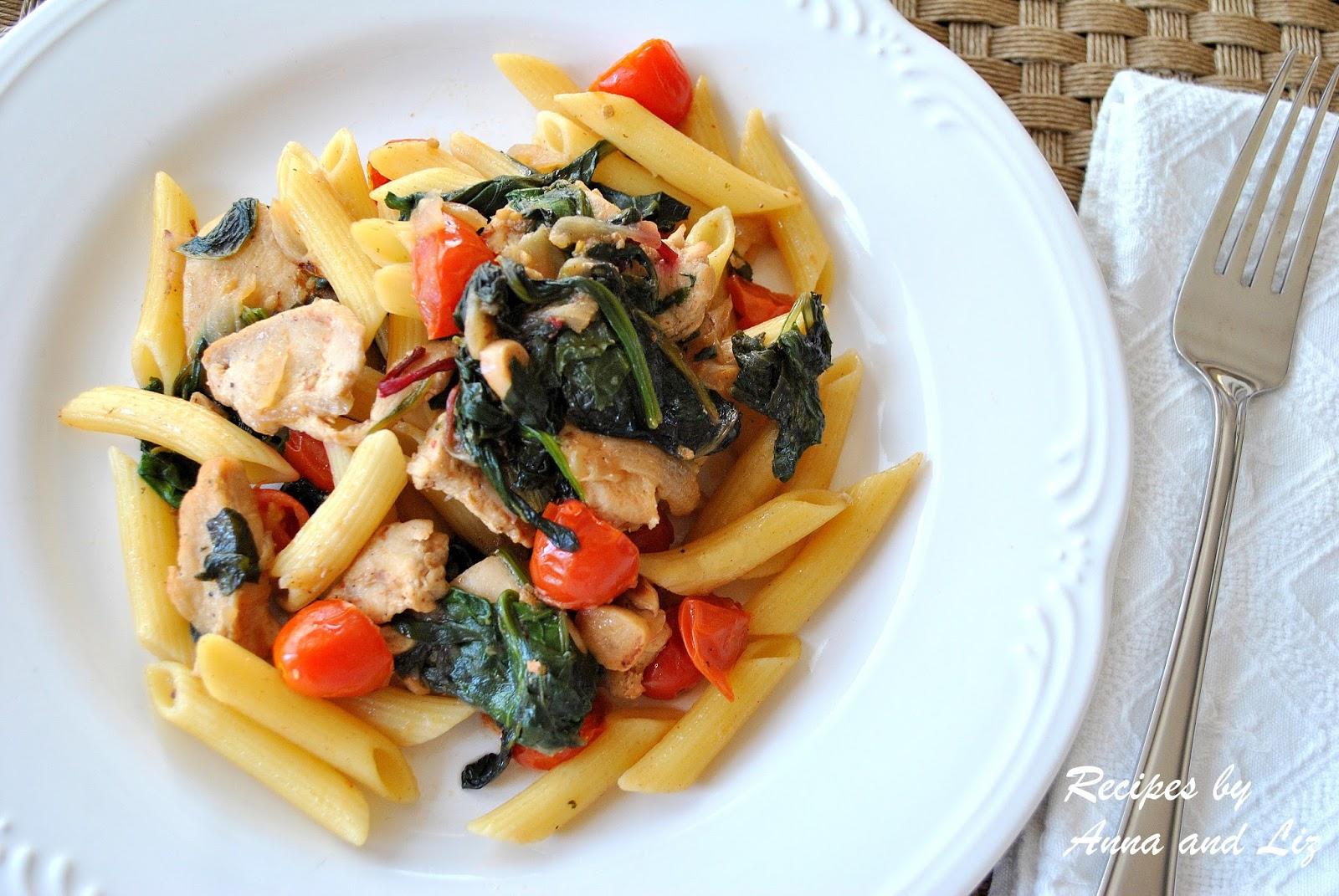 Sauteed chicken recipes pasta