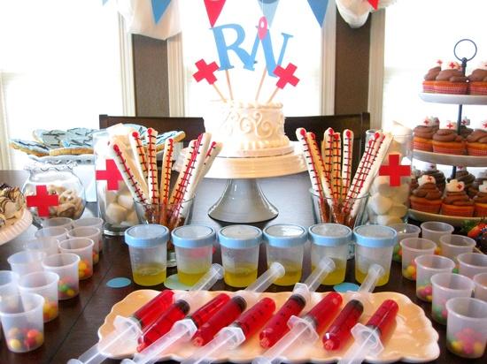 Vintage gwen soiree day nursing school grad party roundup