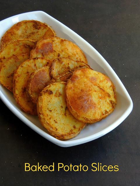 Baked Potato Slices