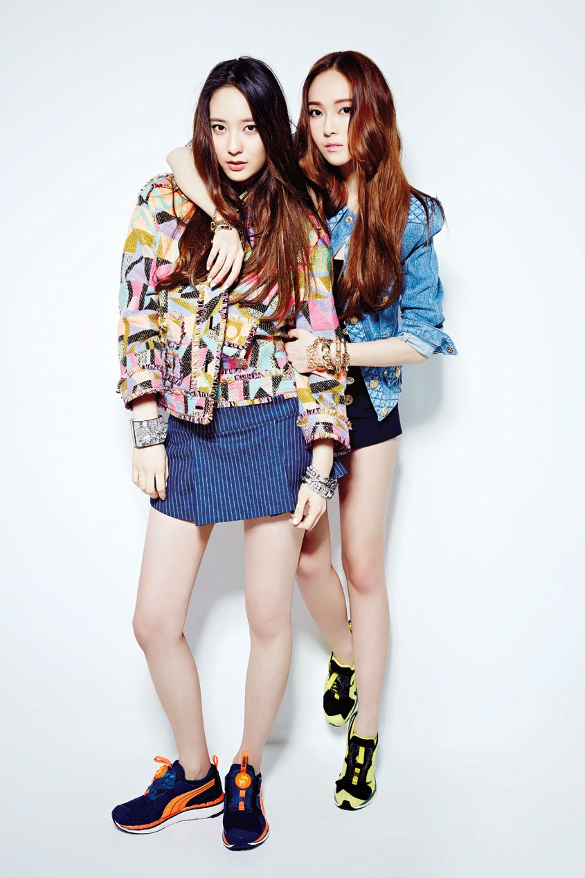 Check out SNSD Jessica and f(x) Krystal's pictures and ...
