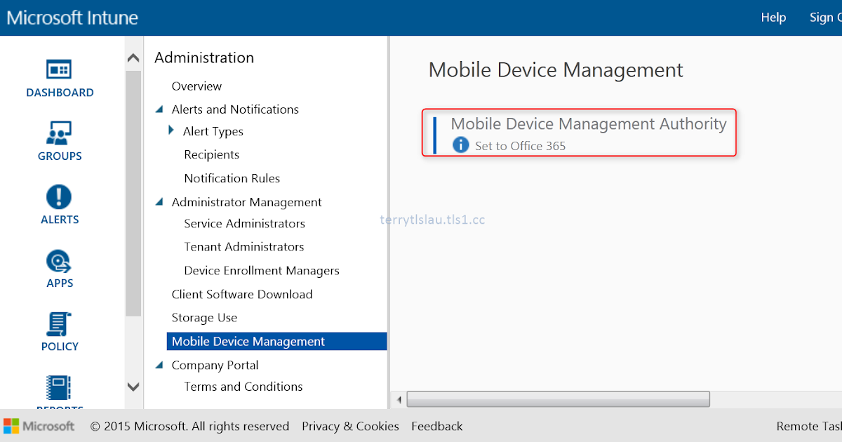 Terry l u 39 s blog migrate office 365 mobile device - Rights management services office 365 ...