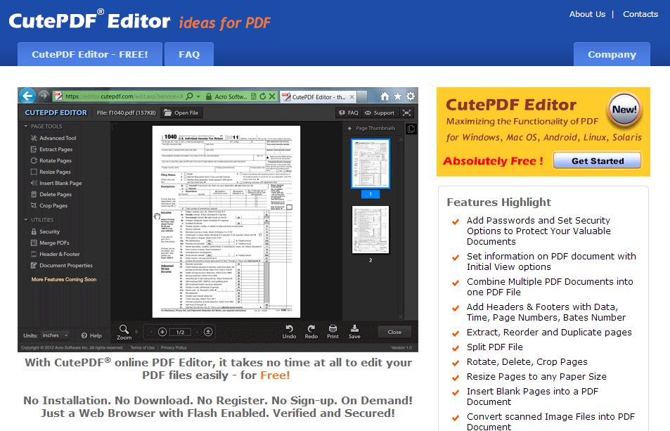 Scan to PDF, convert JPEG or TIFF to PDF - Adobe Acrobat