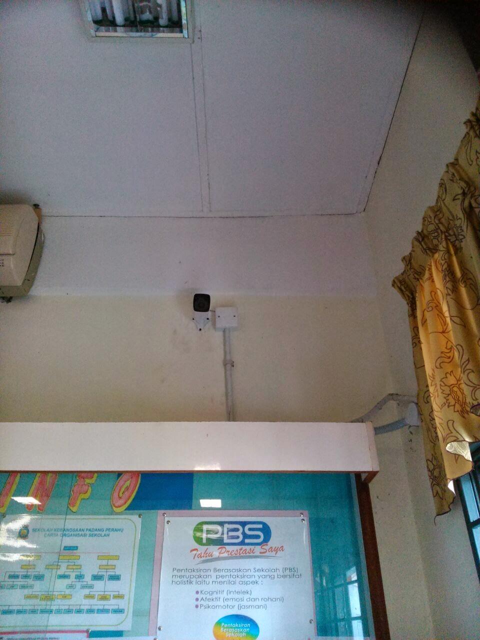 CCTV Pemasangan CCTV Di Sekolah Kebangsaan Padang Perahu