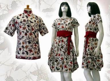 Model Baju Batik Wanita Modern Untuk Kerja Terbaru - Batik Indonesia