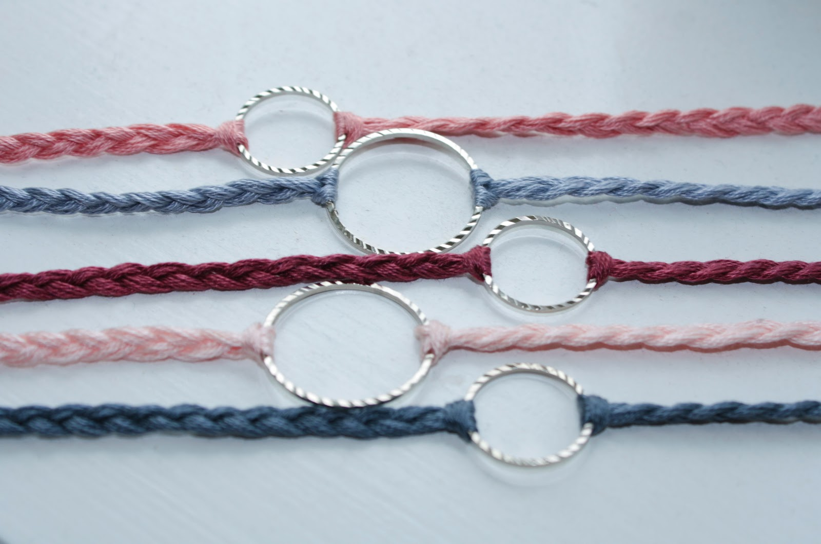 Pinterest and the pauper diy dainty bracelet