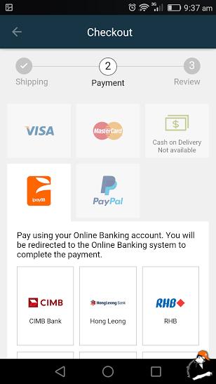 Tips Beli Belah Menerusi Lazada App