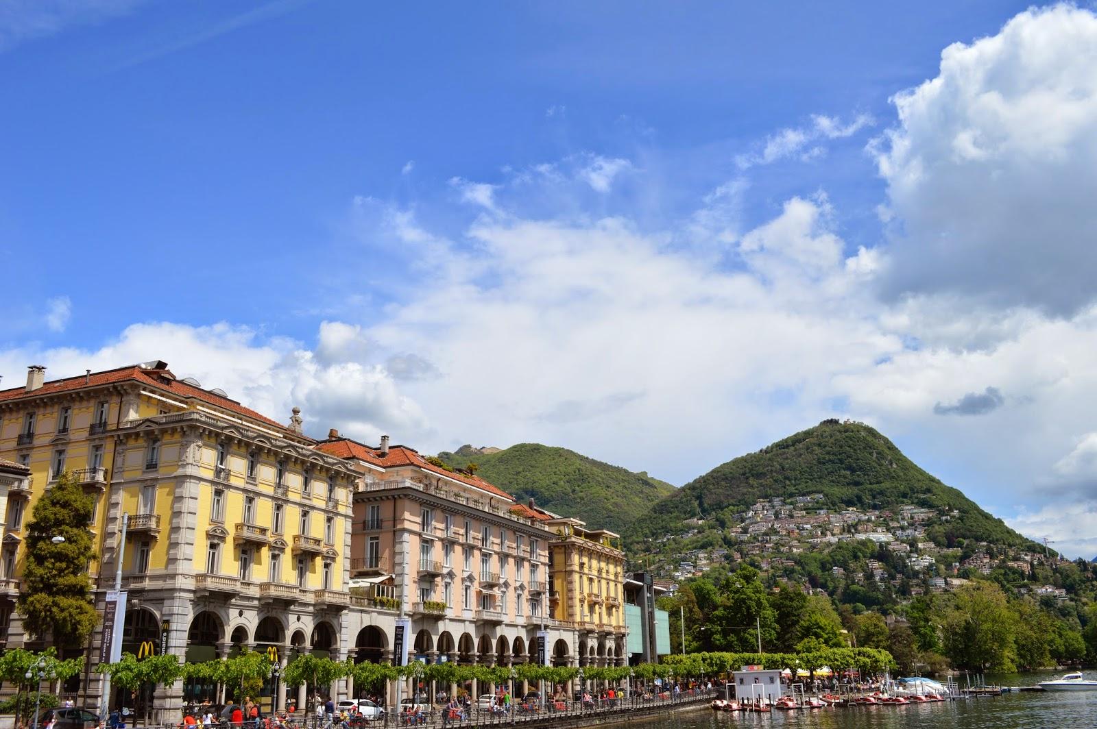 Lugano and Monte Bre, http://sleachmouradventures.blogspot.com
