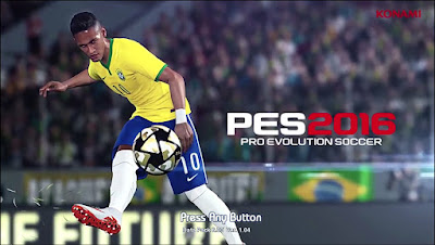 PES 2013 Start Screen Neymar Jr PES 2016
