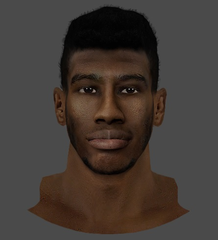 NBA 2K14 Iman Shumpert High Top Fade Hair Mod