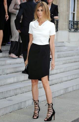 Carine Roitfeld, la papesse de la mode en France