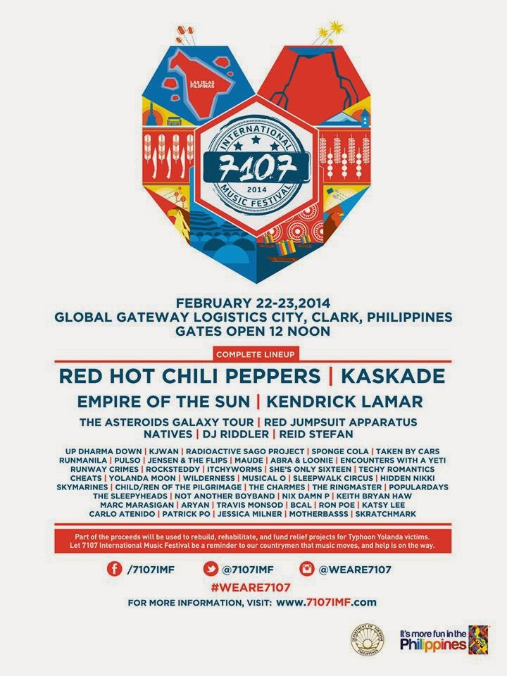 7107 international music festival international artists for 7107 flavours philippine cuisine
