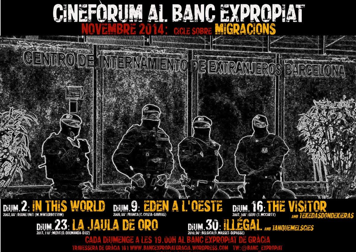 Novembre Cinefòrum Migracions