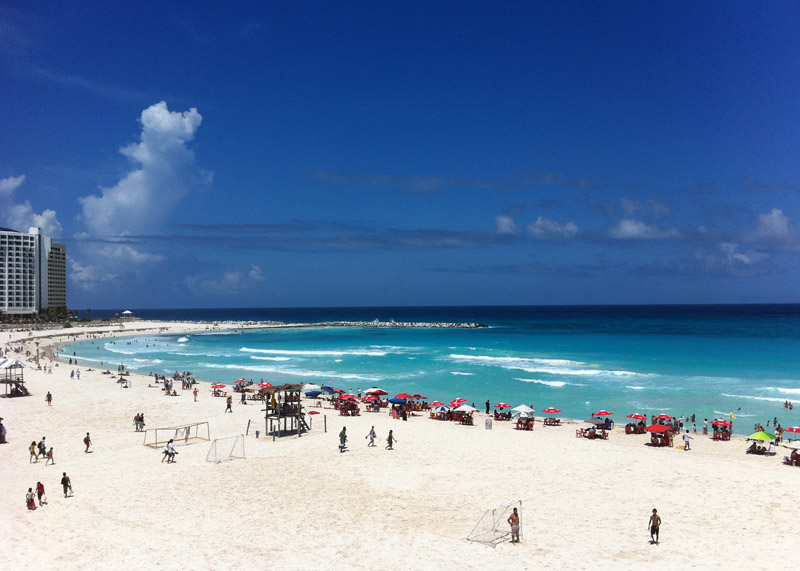 Cancun Beach Therapy