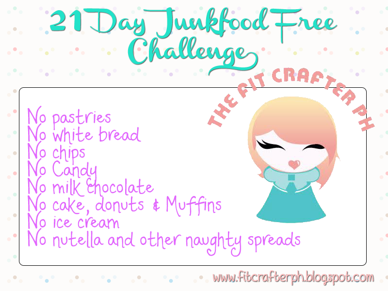 21 day junk food free challenge