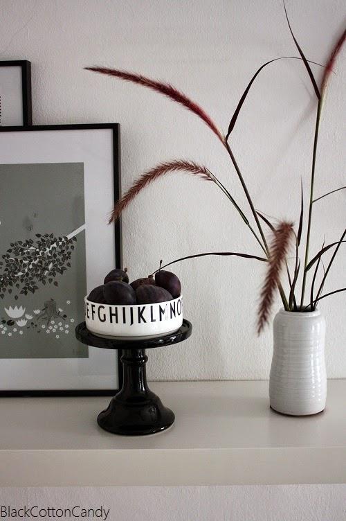 b l a c k c o t t o n c a n d y herbststimmung mit fell feigen. Black Bedroom Furniture Sets. Home Design Ideas
