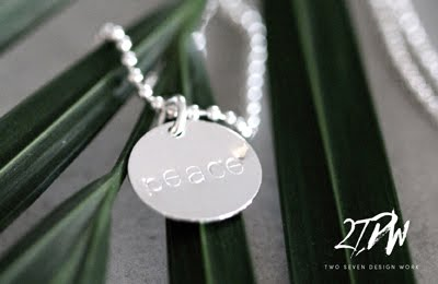 [ NECKLACE | PEACE ]