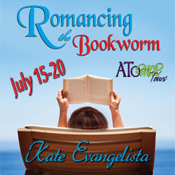 {Review+Giveaway} Romancing the Bookworm by Kate Evangelista