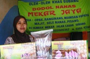 Wajit nanas oleh - oleh khas Subang