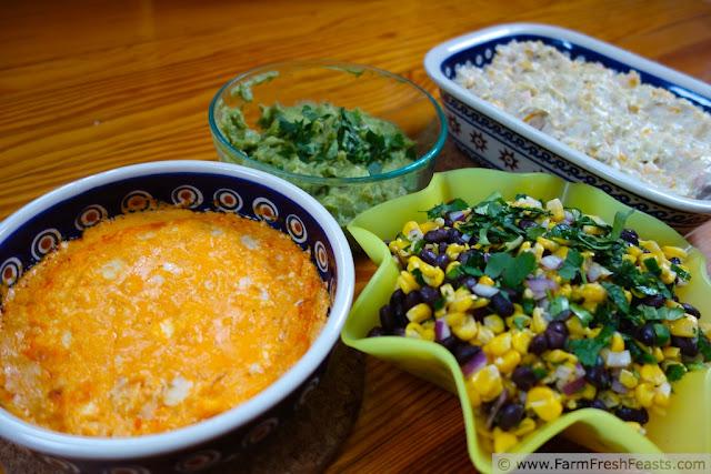 Corn and Black Bean Salsa in Avocado Cups   Farm Fresh Feasts