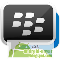 membuka halaman Download Official BBM for Android dari Play Store