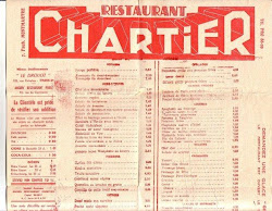 Chartier Restaurant, Paris
