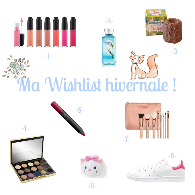 Wishlist Mac Bath and Body Works Lamazuna Urban Decay Nars Tsum Tsum Zoeva Adidas