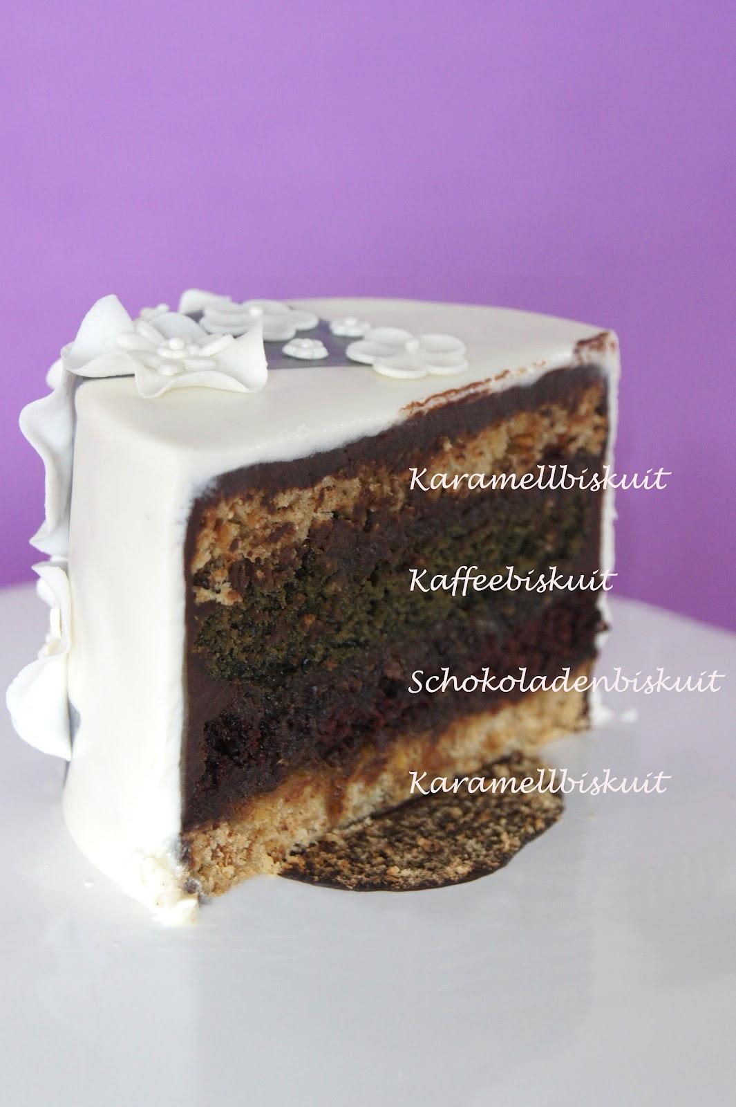 Sweet delight   kaffee karamell schokoladentorte mit orange ...