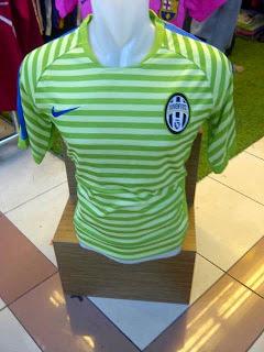gambar jersey juventus terbaru warna hijau bergaris musim 2014/2015