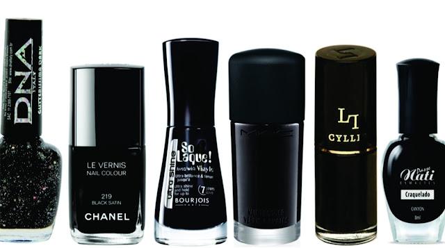 Tendências de esmaltes escuros para 2014