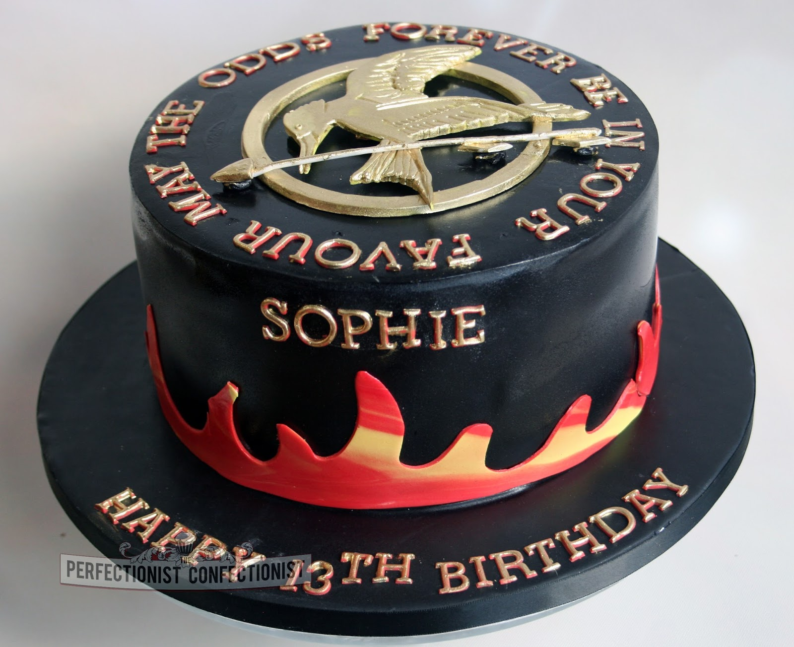 The Perfectionist Confectionist Sophie Hunger Games Birthday Cake