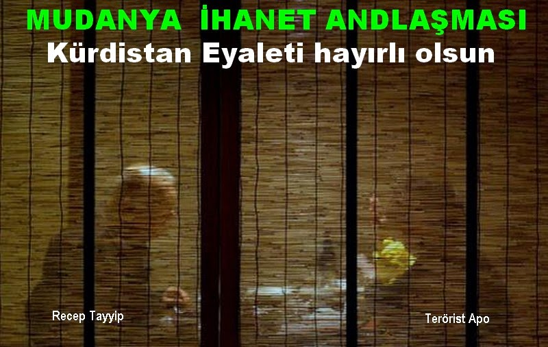 HIRSIZ TAYYİP'LE APO ANLAŞTI