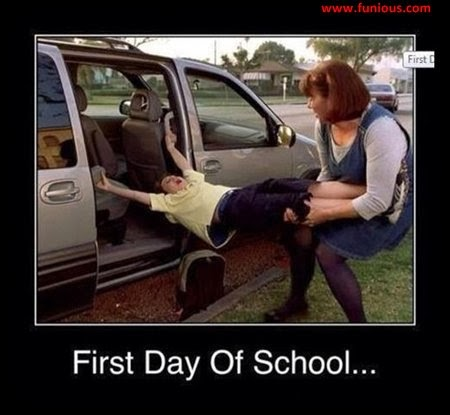 Funny My frist day at school