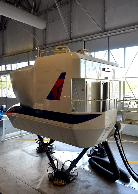 Delta Flight Museum, Flight Simulator