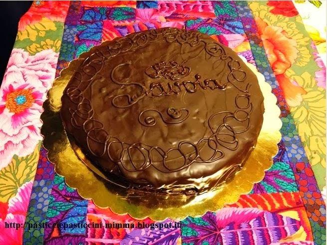 torta savoia che.... si credeva una sacher!!!!
