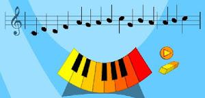 Creo melodías al piano