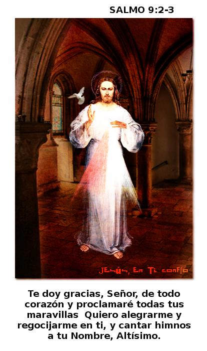 divina misericordia salmo 9