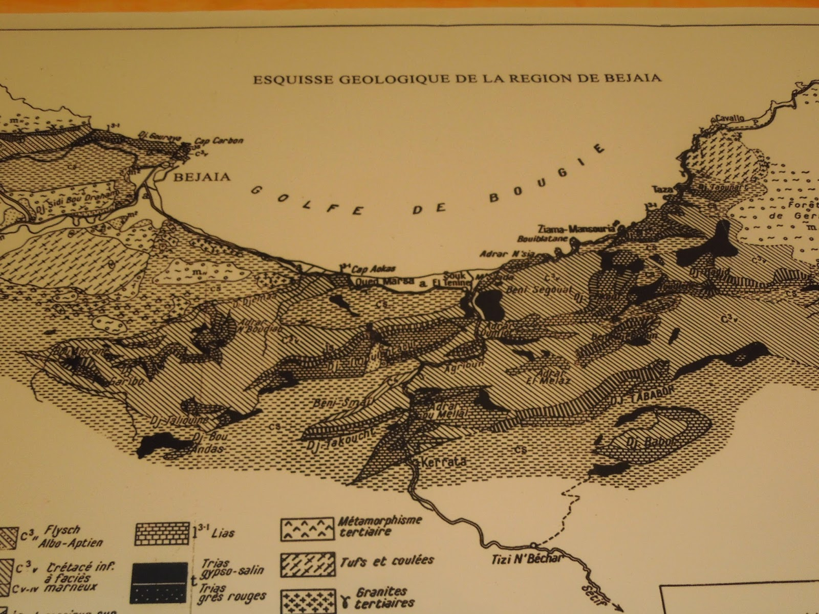 the geological map of northern algeria zeki this is for you