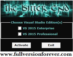 download MS Visual Studio 2015 Professional Activator