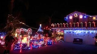 Card lane christmas card lane belardo lights candy cane lane