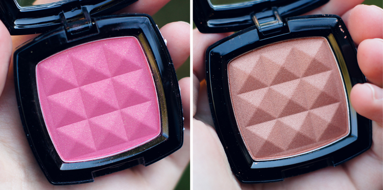 NYX Blushes in Rose Garden and Terra Cotta | NYX Haul on Ribbons Down My Back