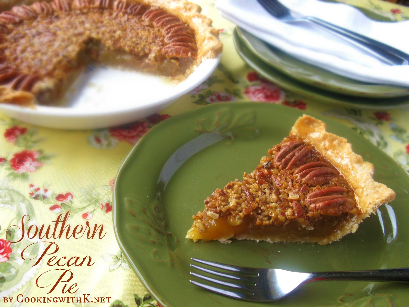 Southern Pecan Pie {Granny's Recipe + her secret to making the perfect ...
