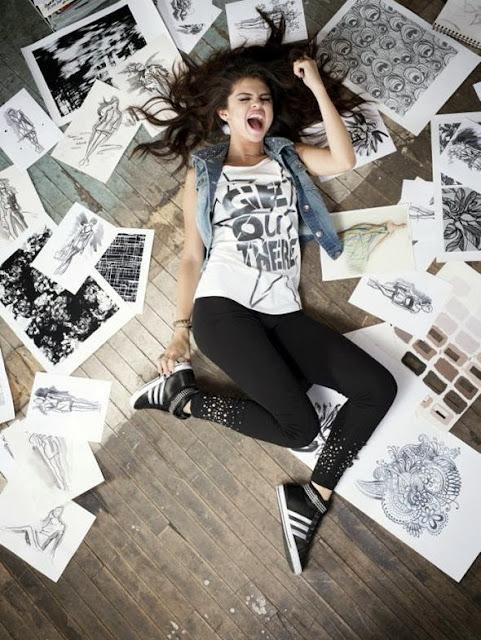Selena Gomez faz coleção em parceria com Adidas NEO