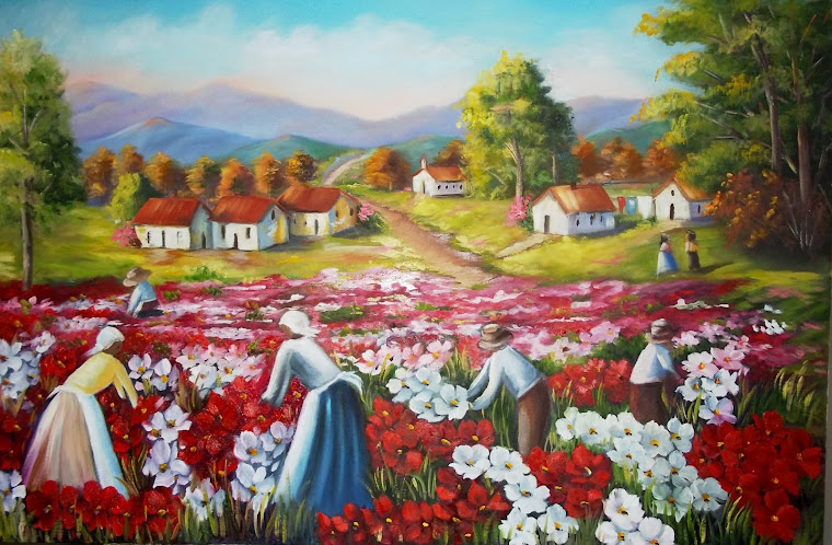 Fotos De Pinturas Em Telas De Flores - pintura em telas flores Baidu