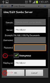 es file explorer lan pc ip edit server anonymous